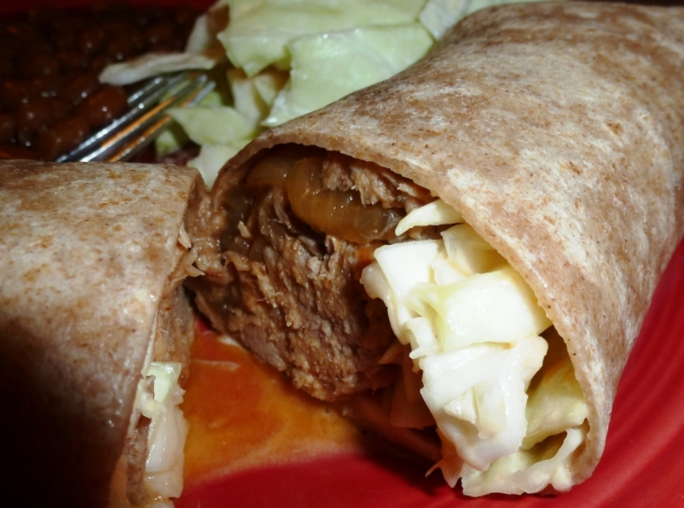 Pulled Pork Wraps
